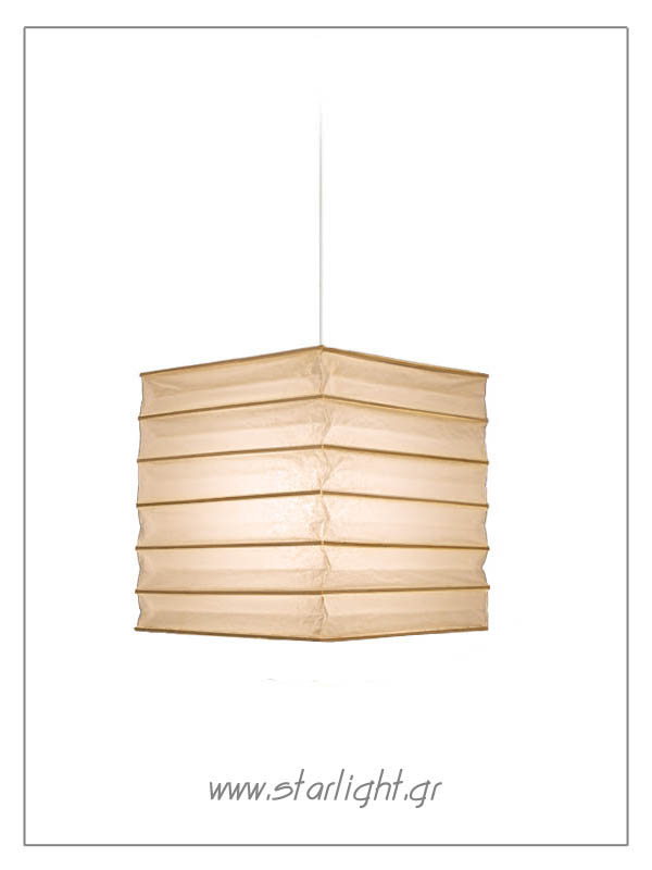 Starlight - Square shaped rice paper / bamboo lanterns